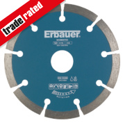 Erbauer Segmented Diamond Blade 115 x 22.23mm